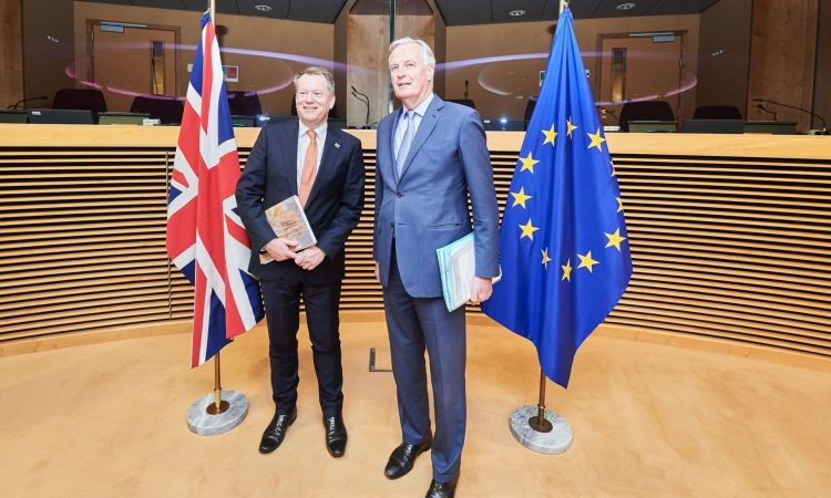 Brexit Negations Started Fiercely