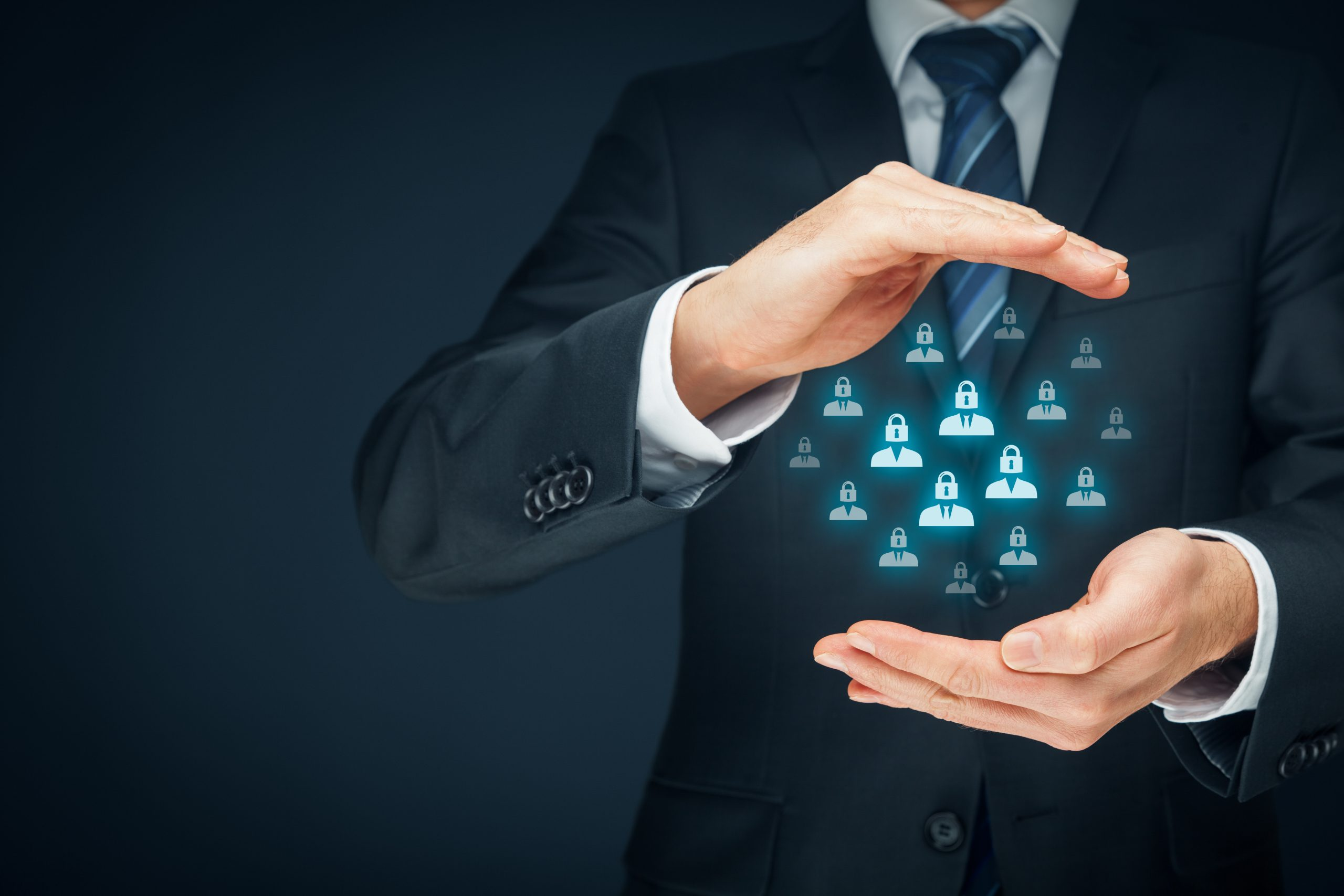 Gdpr,(general,Data,Protection,Regulation),Concept.,Businessman,Or,It,Technologist